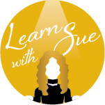 Learn with Sue Logo